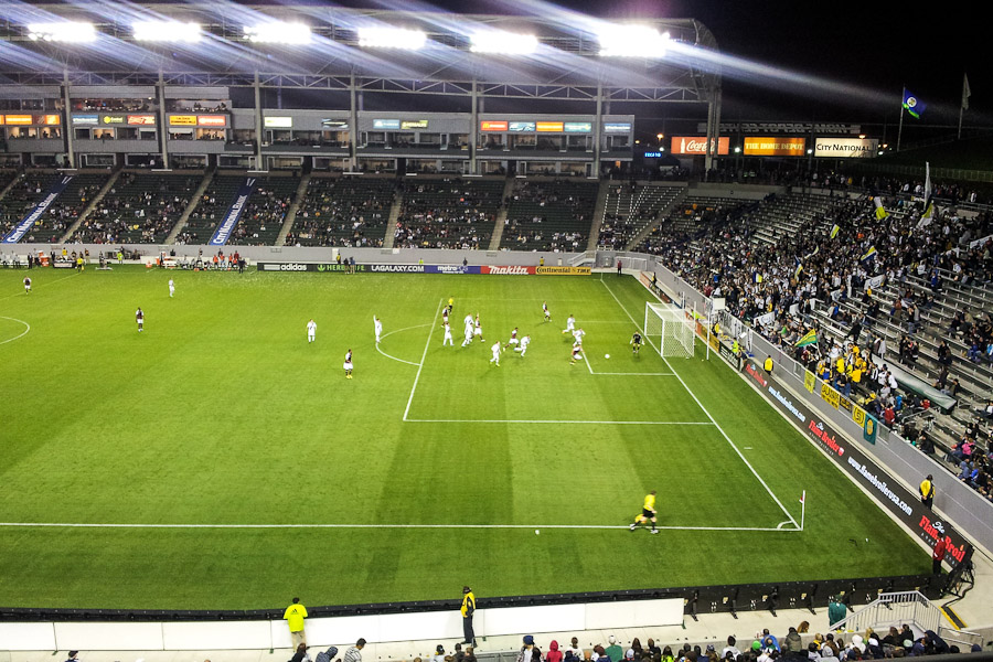 Stadion drużyny Los Angeles Galaxy